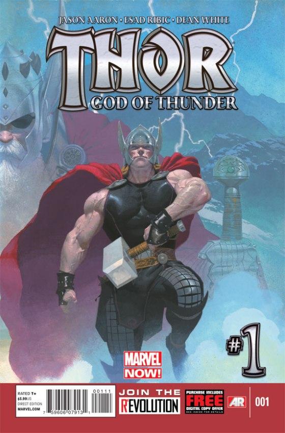 Thor God Of Thunder #1 Cover